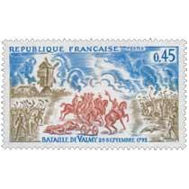 1971 BATAILLE DE VALMY 20 SEPTEMBRE, 1792
