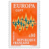 1972 EUROPA CEPT