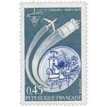 XXIÈME CONGRÈS PARIS 1972 IPTT
