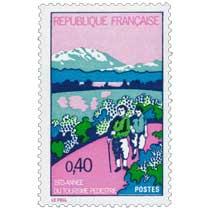 1972 ANNÉE DU TOURISME PÉDESTRE