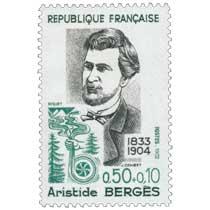 1972 Aristide BERGÈS 1833-1904