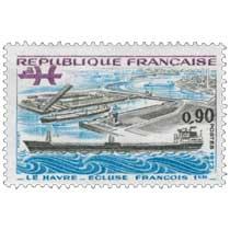 1973 - LE HAVRE - ÉCLUSE FRANÇOIS 1er