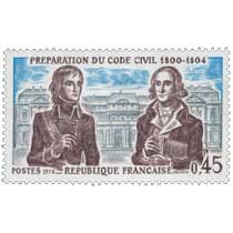 1973 PRÉPARATION DU CODE CIVIL 1800-1804
