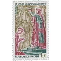 1973 SACRE DE NAPOLÉON (1804) DAVID