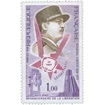 1974 30e ANNIVERSAIRE DE LA LIBÉRATION GÉNÉRAL KOENIG 1898-1970