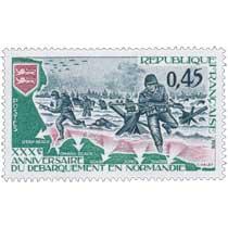 1974 XXXe ANNIVERSAIRE DU DÉBARQUEMENT EN NORMANDIE UTAH-BEACH OMAHA-BEACH GOLD JUNO SWORD