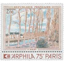 1974 A. SISLEY ARPHILA 75 PARIS