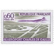 1974 ROISSY EN FRANCE AÉROPORT CHARLES DE GAULLE