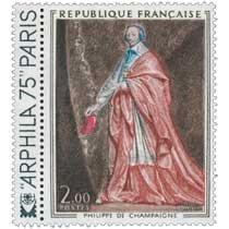 1974 PHILIPPE DE CHAMPAIGNE ARPHILA 75 PARIS