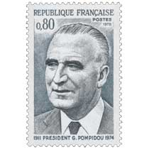 1975 PRÉSIDENT G. POMPIDOU 1911-1974