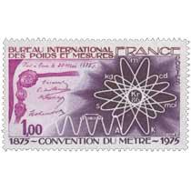 BUREAU INTERNATIONAL DES POIDS ET MESURES CONVENTION DU MÈTRE 1875-1975 Fait à Paris le 20 mai 1875
