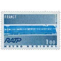 1975 RATP METRO RÉGIONAL