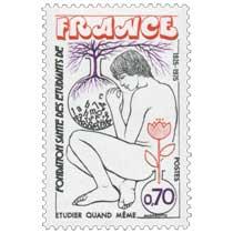 FONDATION SANTÉ DES ÉTUDIANTS DE FRANCE ÉTUDIER QUAND MÊME 1925-1975