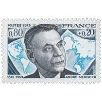 1975 ANDRÉ SIEGFRIED 1875-1959