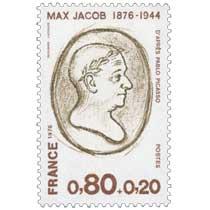 1976 MAX JACOB 1876-1944 D'APRÈS PABLO PICASSO