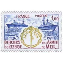 1976 ACORAM OFFICIERS DE RESERVE DE L'ARMÉE DE MER 1926-1976