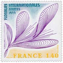 1977 FLORALIES INTERNATIONALES NANTES
