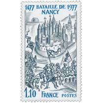 BATAILLE DE NANCY 1477-1977