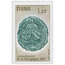 1977 rattachement de la bourgogne 1477