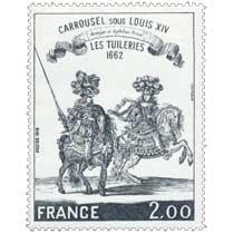 1978 CARROUSEL SOUS LOUIS XIV LES TUILERIES 1662