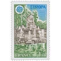 1978 EUROPA CEPT PARIS - FONTAINE DU PARC FLORAL STAHLY Sculpt.