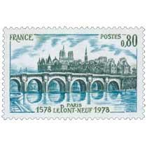PARIS LE PONT-NEUF 1578-1978
