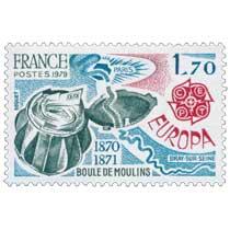 1979 EUROPA CEPT BOULE DE MOULINS 1870-1871 PARIS BRAY-SUR-SEINE