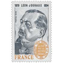 1979 LÉON JOUHAUX 1879-1954 SYNDICALISTE PRIX NOBEL DE LA PAIX 1951 LA PAIX PAR LA JUSTICE SOCIALE
