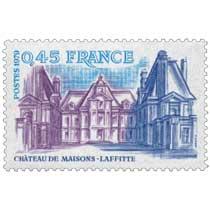 1979 CHÂTEAU DE MAISONS-LAFFITTE