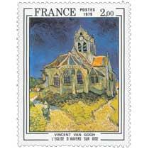 1979 VINCENT VAN GOGH L'ÉGLISE D'AUVERS SUR OISE