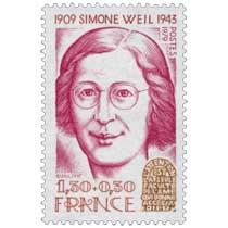 1979 SIMONE WEIL 1909-1943 L'ATTENTION EST LA SEULE FACULTÉ DE L'ÂME QUI DONNE ACCÈS A DIEUX