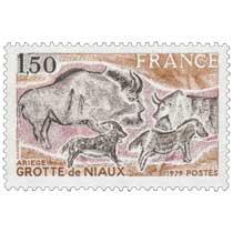 1979 GROTTE de NIAUX ARIÈGE