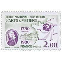 ÉCOLE NATIONALE SUPÉRIEURE D'ARTS & MÉTIERS LA ROCHEFOUCAULD LIANCOURT 1780-1980 LILLE CHALONS CLUNY AIX BORDEAUX ANGERS