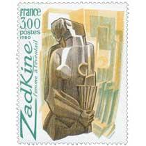 1980 Zadkine femme à l'éventail
