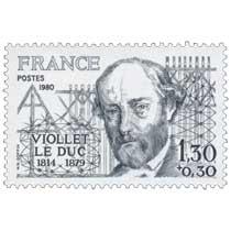 1980 VIOLLET LE DUC 1814-1879