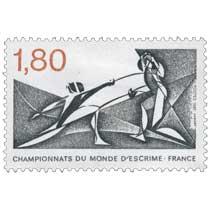 1981 CHAMPIONNATS DU MONDE D'ESCRIME