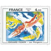 1981 ÉDOUARD PIGNON - Les plongeurs