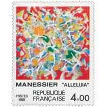 1981 MANESSIER ALLÉLUIA