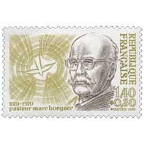 1981 pasteur marc Boegner 1881-1970