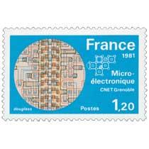 1981 Micro-électronique CNET Grenoble