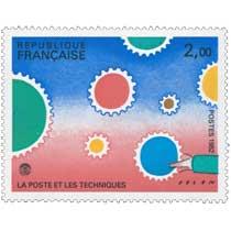 1982 LA POSTE ET LES TECHNIQUES FOLON