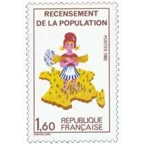 1982 RECENSEMENT DE LA POPULATION