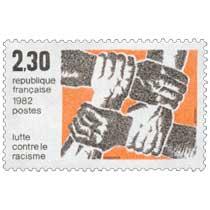 1982 Lutte contre le racisme