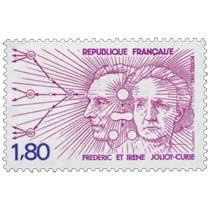 1982 FRÉDÉRIC ET IRÈNE JOLIOT-CURIE