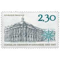 BORDEAUX - MUSÉE DES DOUANES CONSEIL DE COOPÉRATION DOUANIÈRE 1953-1983