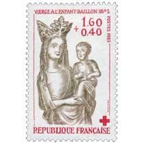 1983 VIERGE À L'ENFANT - BAILLON - XIVe S.