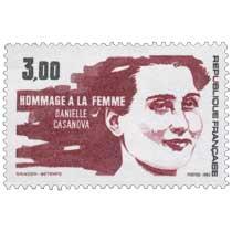 1983 HOMMAGE A LA FEMME DANIELLE CASANOVA