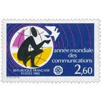 1983 année mondiale des communications