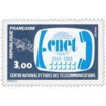 1984 cnet 1944-1984 CENTRE NATIONAL D'ÉTUDES DES TÉLÉCOMMUNICATIONS