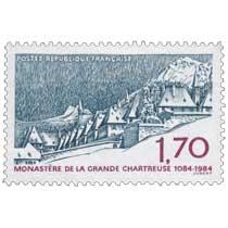 MONASTÈRE DE LA GRANDE CHARTREUSE 1084-1984